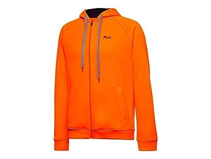 Fila Triumph - Sudadera con Capucha para Hombre (Talla XL), Color Naranja