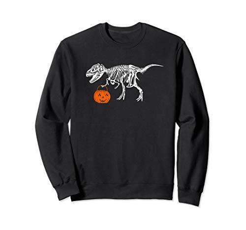 Funny T Rex Lovers Halloween Sweatshirt for Men Women Teens -