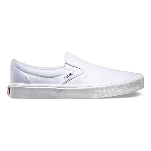 Bestelwagen Unisex Slip-on Lite (canvas) Skate Schoen True White