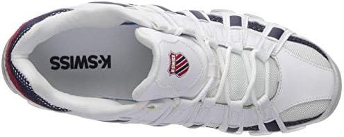 K-Swiss Men's ST-429 SB Sneaker, White/Corporate, 9.5 M US