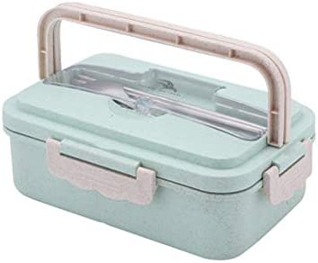 BESTONZON Fiambrera con tapas y asa 4 compartimentos ...