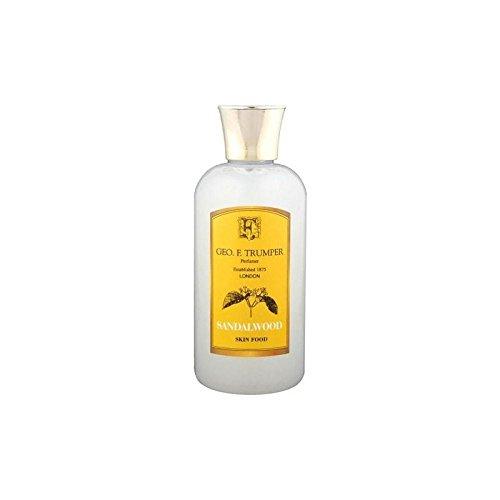 Trumpers Sandalwood Skin Food - 100ml Travel (Pack of 4) -