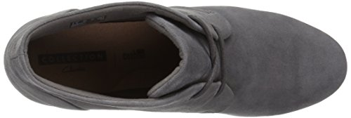 Grey womens Flores Suede Clarks Rose wxaAXvq