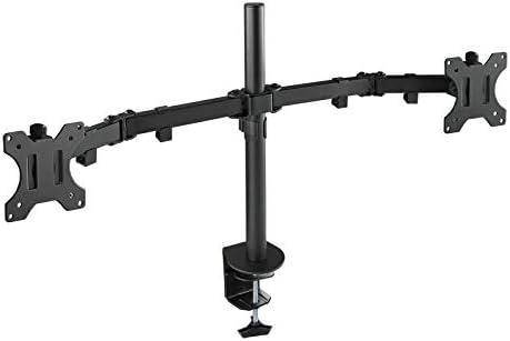 TooQ DB1232TN-B - Soporte de mesa giratorio, inclinable para 2 ...