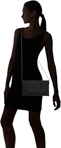 SwankySwans - Uma Stud Faux Leather, Pochette da giorno Donna Grigio (Grey)