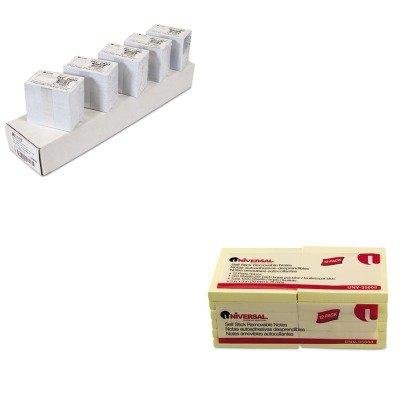 KITCLI89007UNV35668 - Value Kit - C-line PVC ID Badge Card (CLI89007) and Universal Standard Self-Stick Notes (UNV35668)