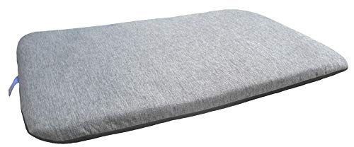 Superior P & L Pet Beds Pet Duvets Basket Weave Grey Size Medium L105cm X W 70cm X D 9cm