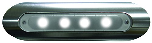 Taco Metals 4 LED Deck Light Pipe Mount Aluminum Housing 4 LED Deck Light, by Taco Metals