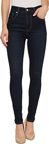 Levi's Women's Mile High Super Skinny Jeans, Ink Blues, 28 (US 6) R