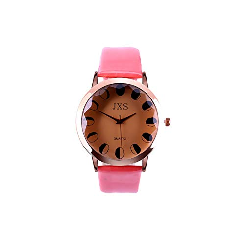 Fashion J26 Quartz Watch PU Leather Strap Waterproof Quartz Analog Watch Casual Style Wristwatch Accurate Time