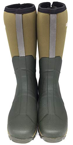 5mm Winning Boot Rubber Wellingtons Natural Rockfish Delivery Adjustable Men's Absorbent Uk 5 Award Gusset Shock Rear 3m Foot Neoprene Retro 13 Size reflective Free Warmth Lined Bed For 5wTTYIq