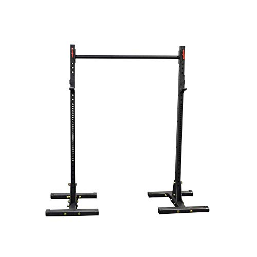 Titan Squat Stand HD 1,000 lb Capacity Deadlift Lift Weight Rack 2×3 Pull Up