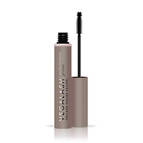 VEGAMOUR Vegalash Lash Primer Conditioner with Eyelash Enhancement Serum - Natural Vegan Plant Based Hormone Free Cruelty-Free Formula Conditions and Nourishes Lashes for Healthy Growth, 8ml