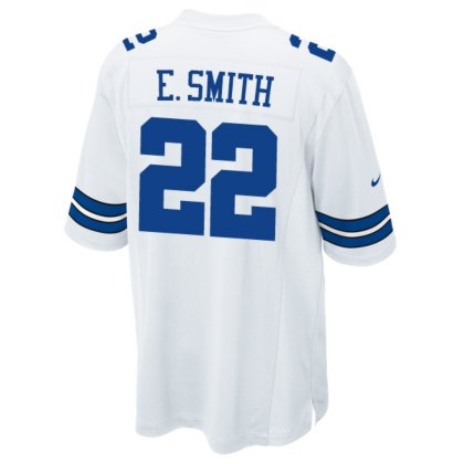 Dallas Cowboys NFL Emmitt Smith Mens E Smith Nike White Game JerseyWhite Nike Game Jersey, White, Medium - Jersey Smith Emmitt 22