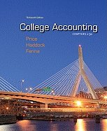 Download College Accounting, Chapter 1-30 (13th, 12) by Price, John - Haddock, M David - Farina, Michael [Hardcover (2011)] ebook