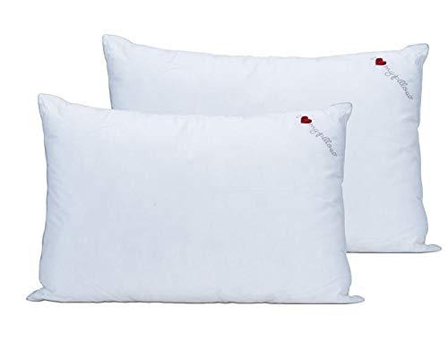 I Love Pillow, Cumulus (Queen, 2-Pack)