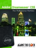 Adobe Dreamweaver CS5 The Professional Portfolio Series