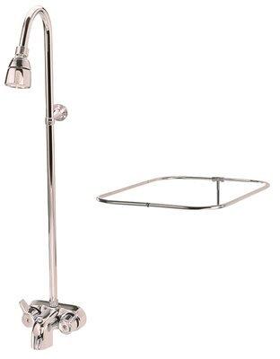 Watt Proplus 682003 add-on shower unit with curtain bar
