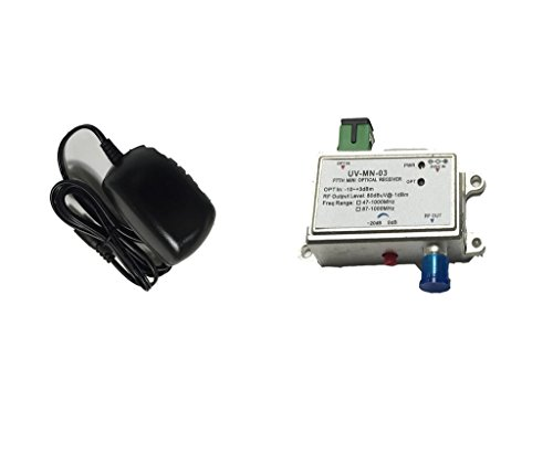 Node Communications Server (CATV Micro Optical Fiber Node - Forward Only FTTH 1310nm - Sturdy design - Commercial QUALITY)