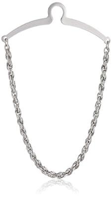 Status Men's Tie Chain Twisted Braid