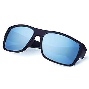 Amazon.com: Gafas de sol clásicas de madera para hombres ...
