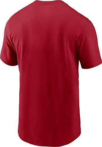Nike Men's Philadelphia Phillies Red Dri-FIT Baseball T-Shirt 2