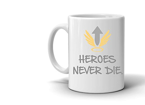 Price comparison product image Heroes Never Die - Overwatch Mercy Inspired Mug