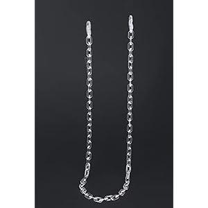 B.M.COLLECTION Multipurpose Acrylic Imitation Chain, 1.5 cm Broad Mask Chain & Eyeglasses chain (66cm)