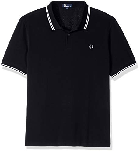 Uomo Twin navy Shirt white Perry Blu Fred Polo Tipped pZBCqxvw