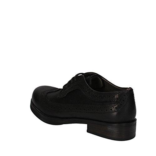 Crime , Chaussures de ville à lacets pour femme noir noir