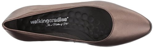 Walking Cradles Womens Heidi Pump Bronze/Metallic Leather xARDgVKiiP
