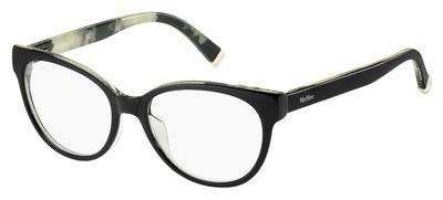Max Mara - MM 1267, Cat Eye, optyl, women, BLACK PATTERN (UXK), - Cat Eye Mara Max Frames