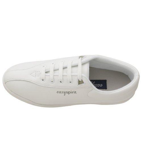 Shoe Spirit Leather Walking Sport White Easy Women's AP1 6OvFFqf