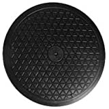 """LapWorks 12"""" Heavy Duty Swivel - for Big Screen TV's & Large Flat Panel Monitors with Steel Ball Bearings for Indoor/Outdoor Use"""