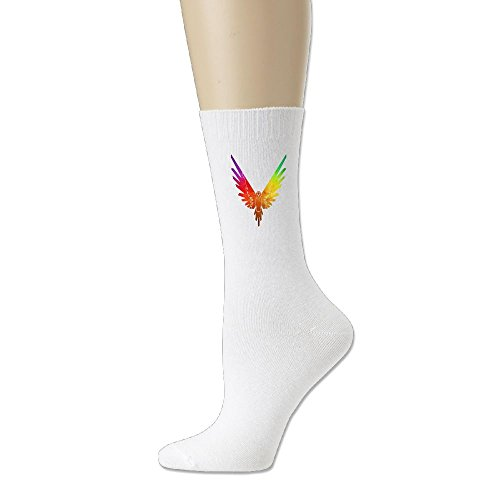 Fashiontribe Goat Logo Cotton Socks Parrot 2 White One - To Time Usps Deliver