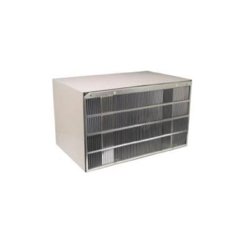 Ge Wall Case - GE RAG13A Aluminum Rear Grille for J Series Wall Case