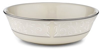 Banded Platinum Coffee Pot (Lenox Pearl Innocence Platinum Banded Ivory China All Purpose Bowl)