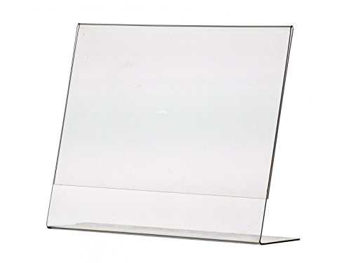 """Marketing Holders Literature 11""""w x 8.5""""h Frame Notice Sign Display Tilt Back Holders Qty 1 from Marketing Holders"""