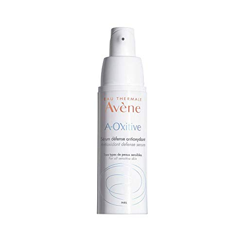 Eau Thermale Avene A-Oxitive Antioxidant Defense Serum, Vitamin C & E, Hyaluronic Acid, Free Radical Protection, 1 oz. (The Best Antioxidant Serum)