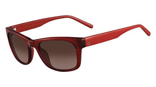 Calvin Klein Gafas de Sol CK-3140S-228 (52 mm) Rojo: Amazon ...