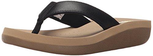 Women's Cas Black Wedge Volatile Sandal Y68ATwqw