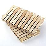 96 Wooden Clothes Pegs