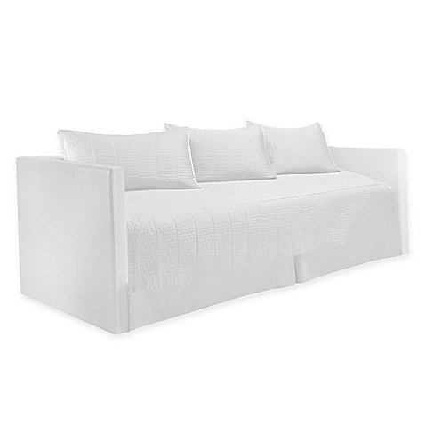 Real Simple Dune Daybed Bedding Set (White)