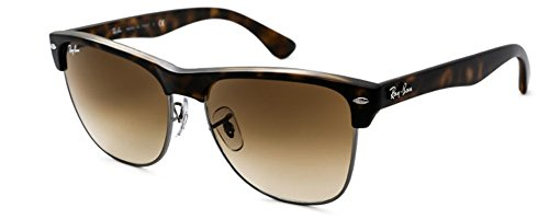 brown 2018 Unisex Lens Havana Clubmaster New Oversized Ray Frame Style Sunglasses ban W Matte Rb4175 Summer a6BxqnTSwp
