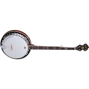 Oscar Schmidt OB5 Gloss Mahogany 5-String Banjo