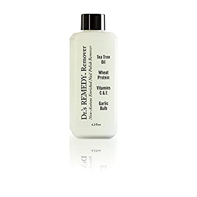Dr.'s REMEDY Non-Acetone Enriched Nail Polish REMEDY Remover, 4.2 Fluid Ounce