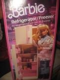 Barbie 1987 Sweet Roses Refrigerator/Freezer Playset