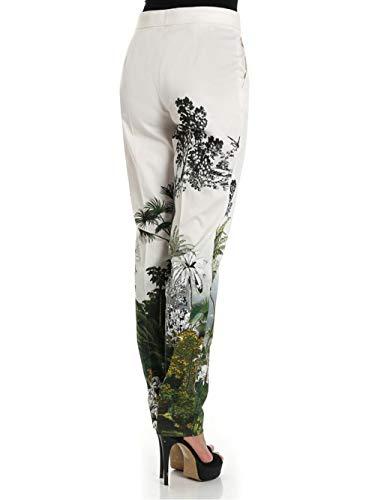 Pantaloni Viscosa A0314 Fantaisie Ferretti Alberta Blanche In S1w75tq
