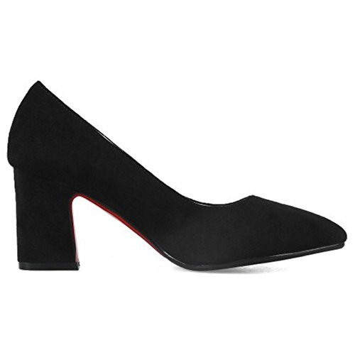 Shoes On Slip 32 TAOFFEN Court Black Classic Women's STW117c