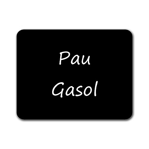Pau Gasol Customized Rectangle Non-Slip Rubber Large Mousepad Gaming Mouse pad.
